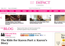 Karen's Story: Part 1 HuffingtonPost.ca